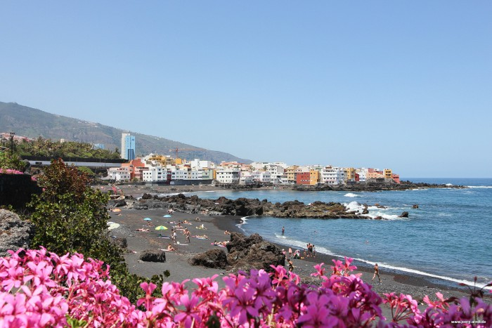 Playa Jardin in Puerto de la Cruz.