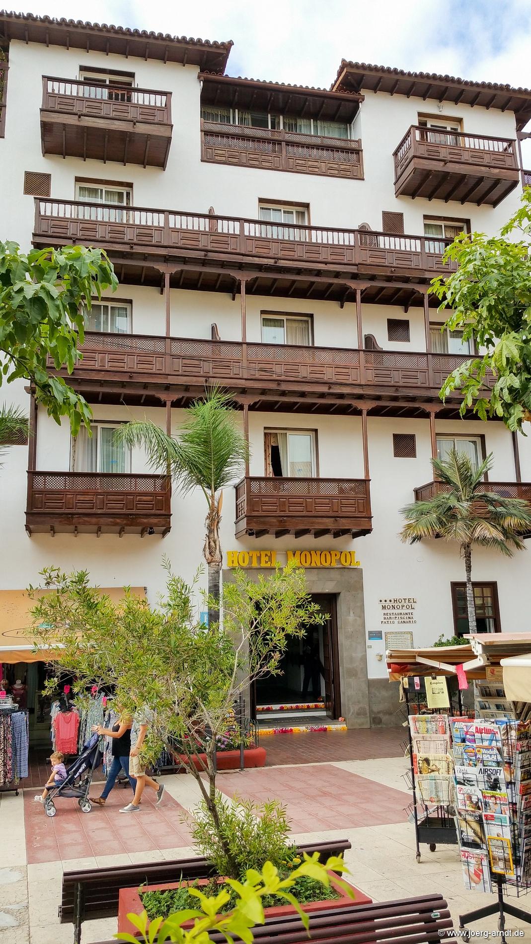 Puerto de la cruz sehensw rdigkeiten infos fotos uvm - Monopol hotel puerto de la cruz ...