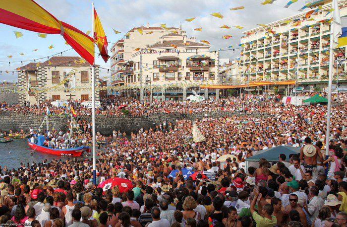 Fotogalerie Fiesta del Carmen in Puerto de la Cruz