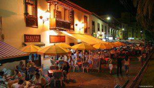 Die Plaza del Charco in Puerto de la Cruz.