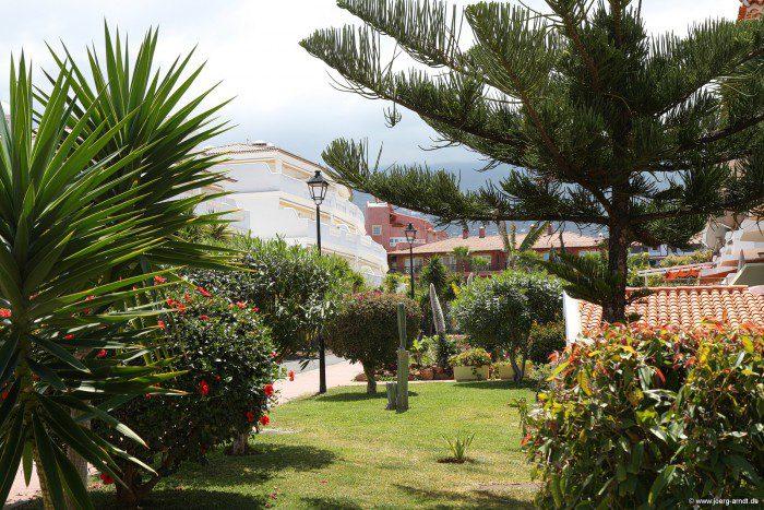 Der Stadtteil La Paz in Puerto de la Cruz.