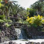 Wasserfall im Taoro Park in Puerto de la Cruz.