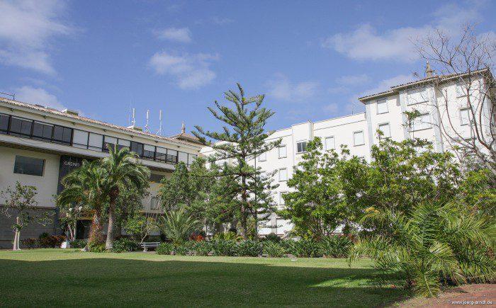Das ehemalige Hotel Taoro steht seit Jahren leer.