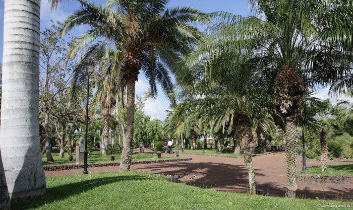 Der flache Teil des Taoro Parks.